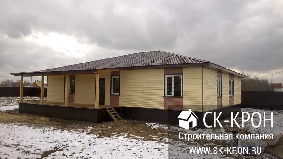Строительство домов из кирпича в Тюмени под ключ проекты