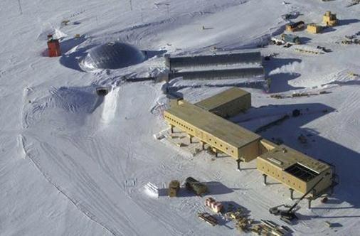Фото полярной станции из СИП