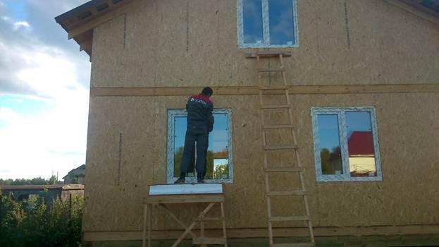 Компания СК-КРОН строит каркасные дома из СИП