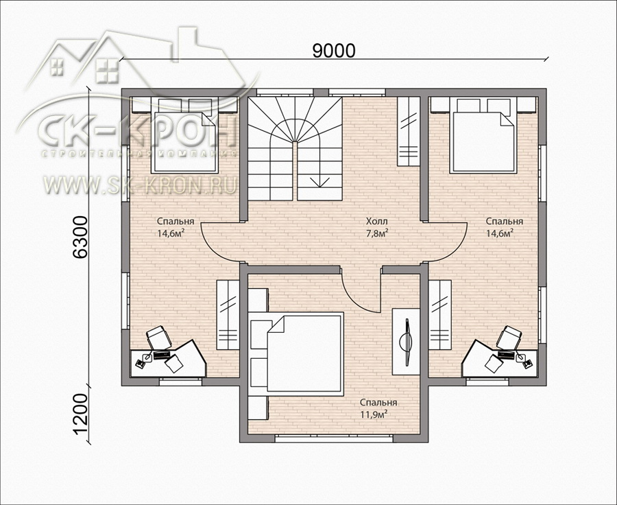 Проект каркасного дома из сип-панелей