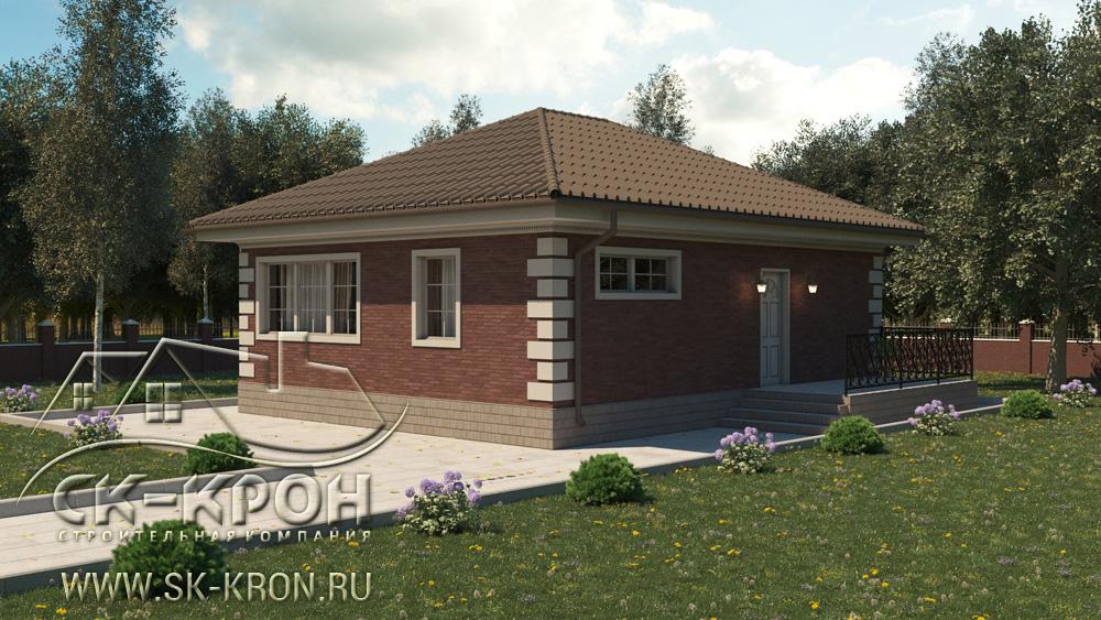 Постройка малоэтажного дома за 1 миллион рублей
