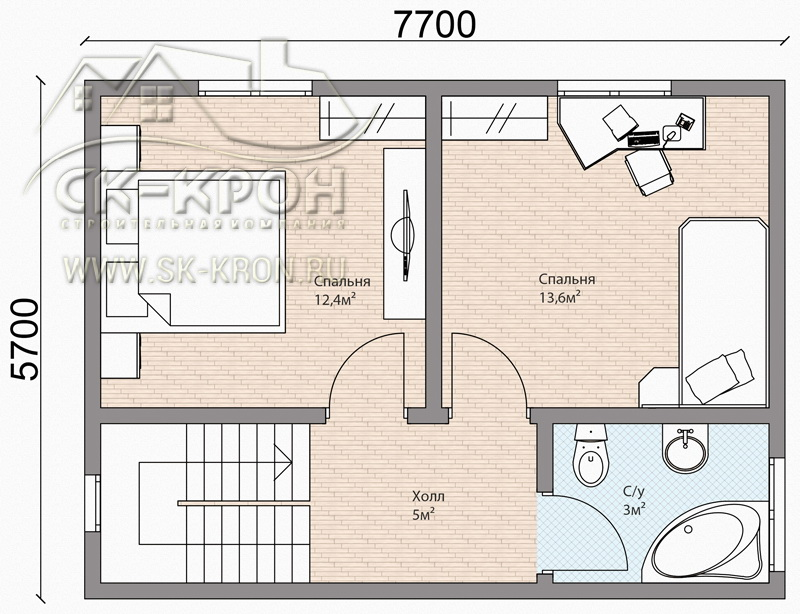 Проект дома за 1 миллион рублей