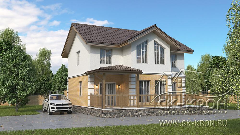 Проект SIP дома 160 квадратных дома
