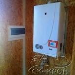 Газовый котел в СИП доме