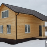 Frame houses from SIP-panels