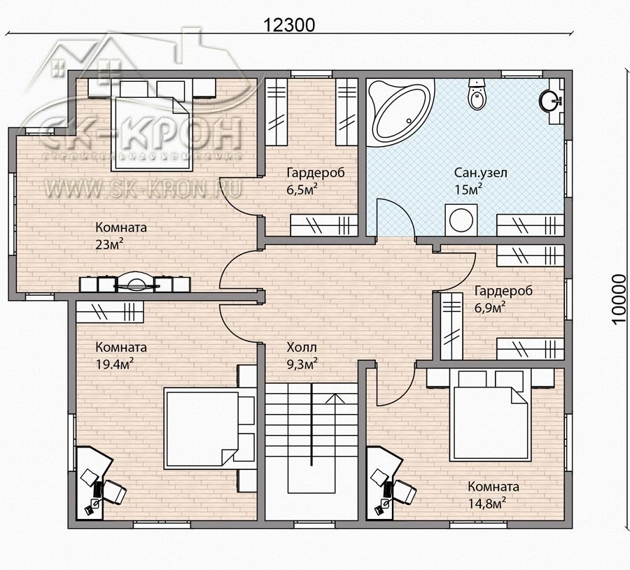 Проекты домов из СИП