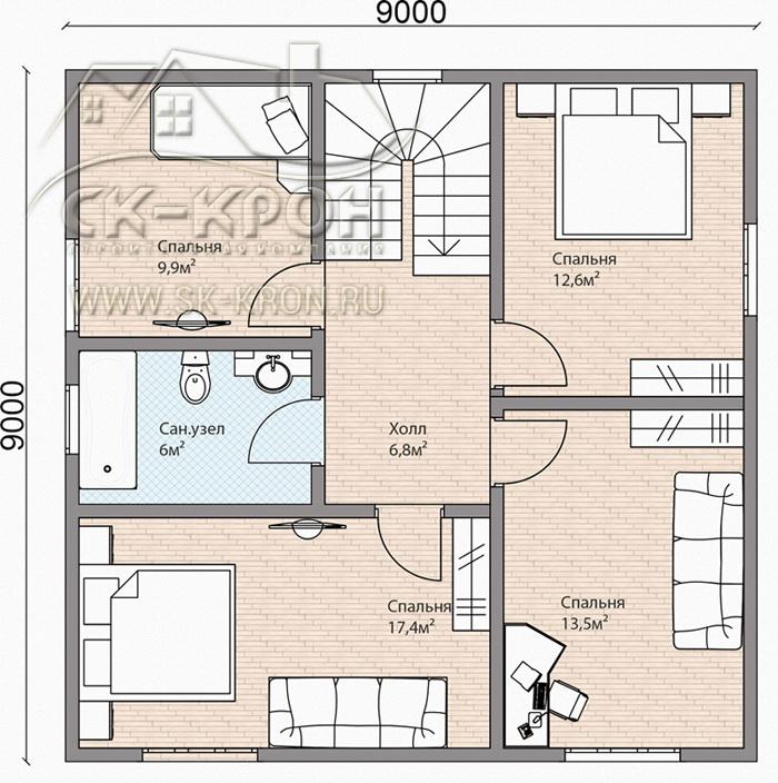 Проекты и цены на строительство домов Тюмень