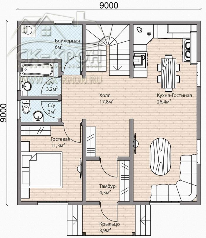Строительство домов цены и проекты