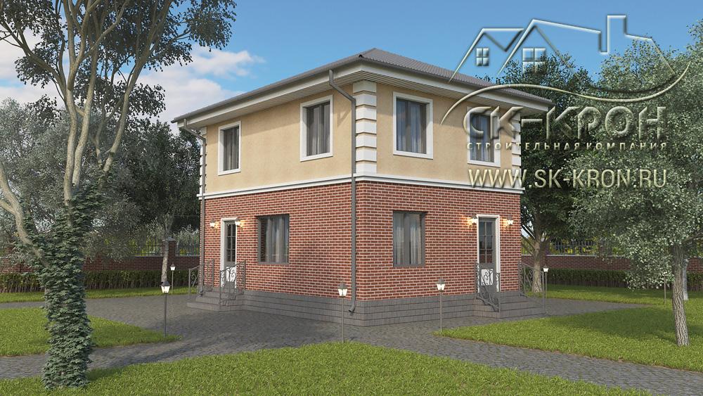 Проект и цена дома 100 кв.м.
