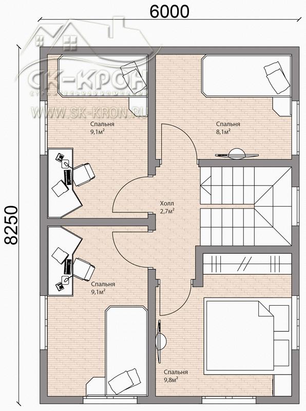 Проект и чертеж СИП-дома