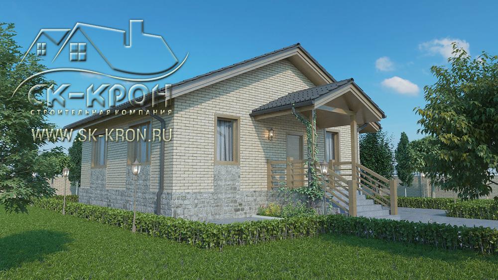 Проект и цена дома 86 на квадратных метра