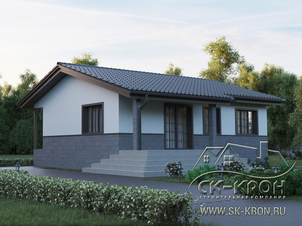 3D модель - проект дома